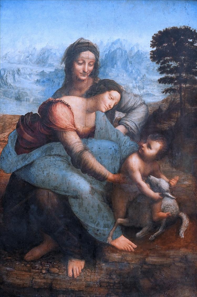 Famous Renaissance Artists Leonardo da Vinci The Virgin and Child with St. Anne