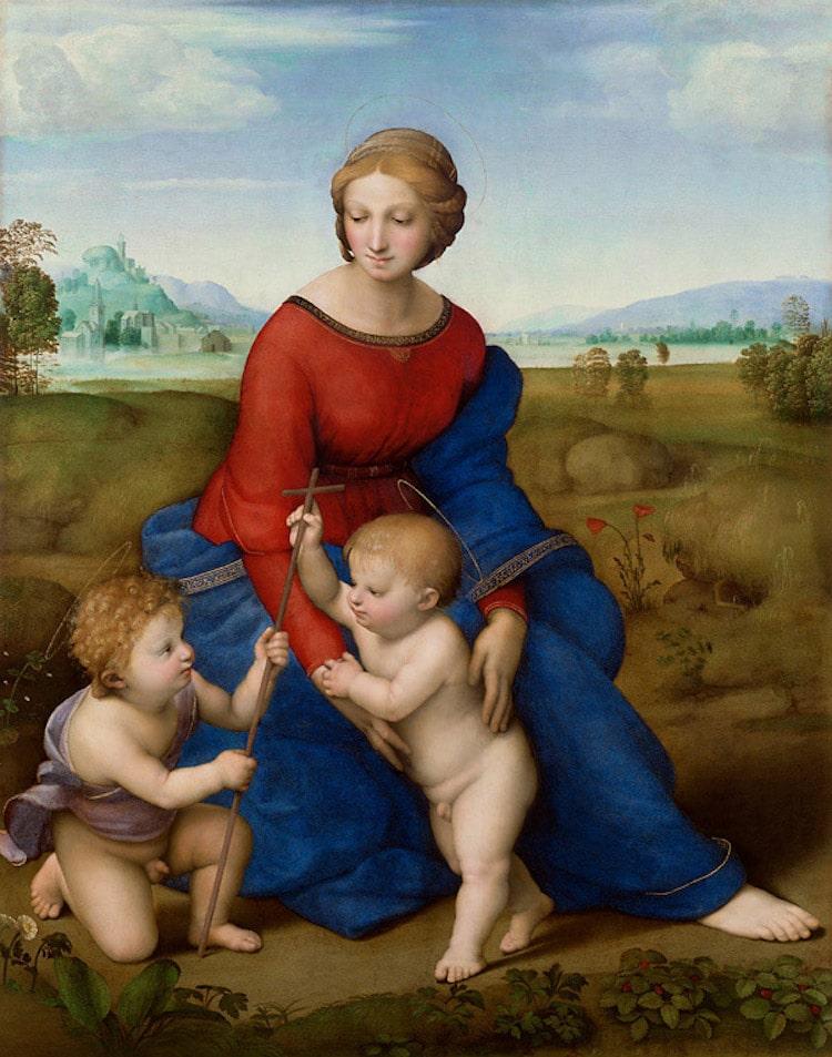 Famous Italian Renaissance Artists Raphael