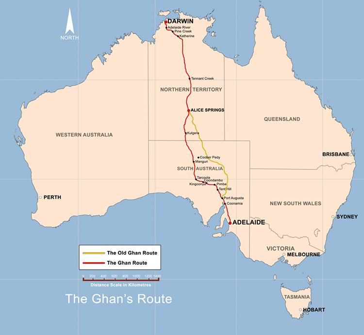 The Ghan Slow TV by SBS Australia