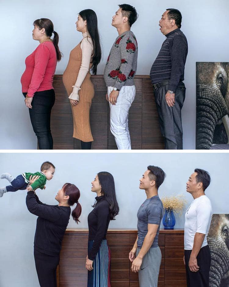 Photographer Shares Family S Inspiring Before And After Weight Loss