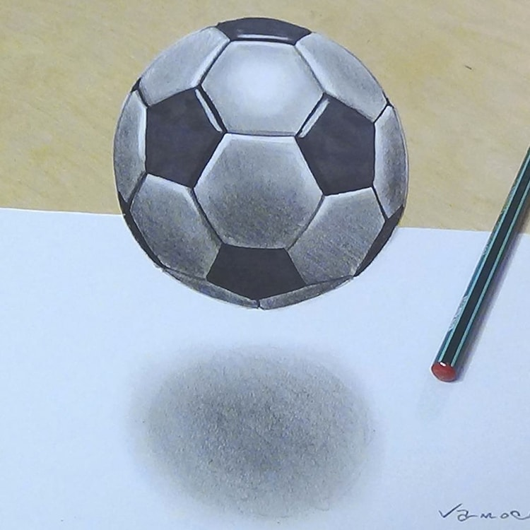 Artist Creates 3D Drawings Inspired By Anamorphic Art