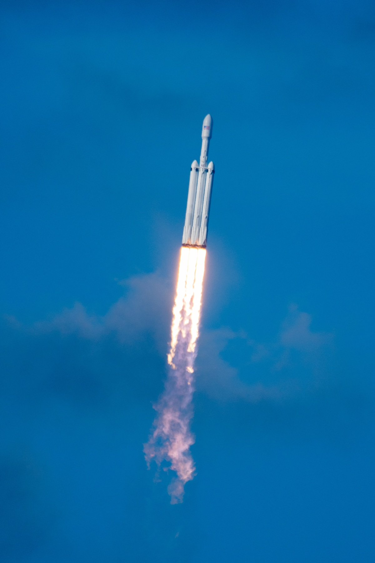 SpaceX Falcon Heavy Rocket Launch by Brady Kenniston