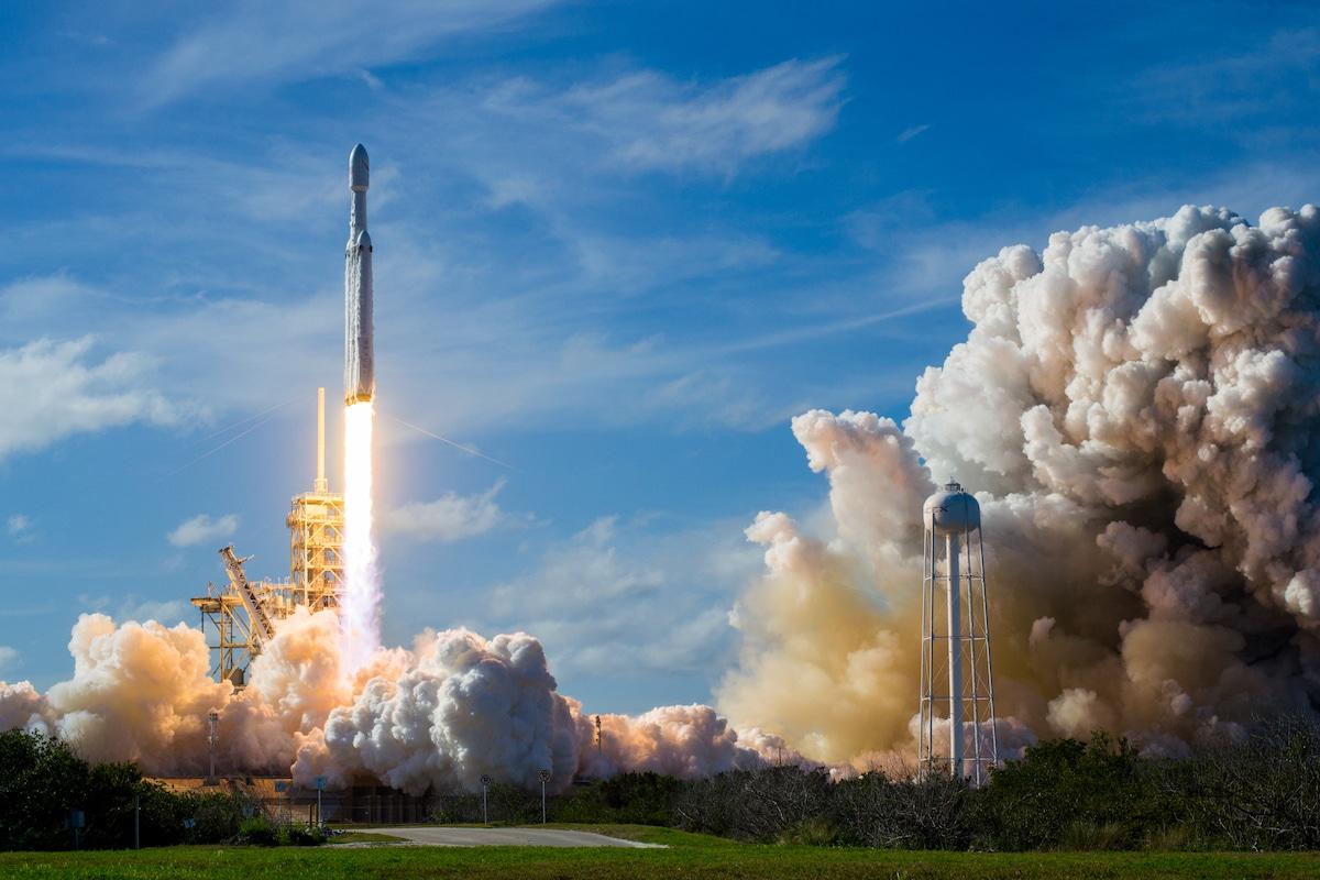 SpaceX Falcon Heavy Rocket Launch by Brady Kenniston