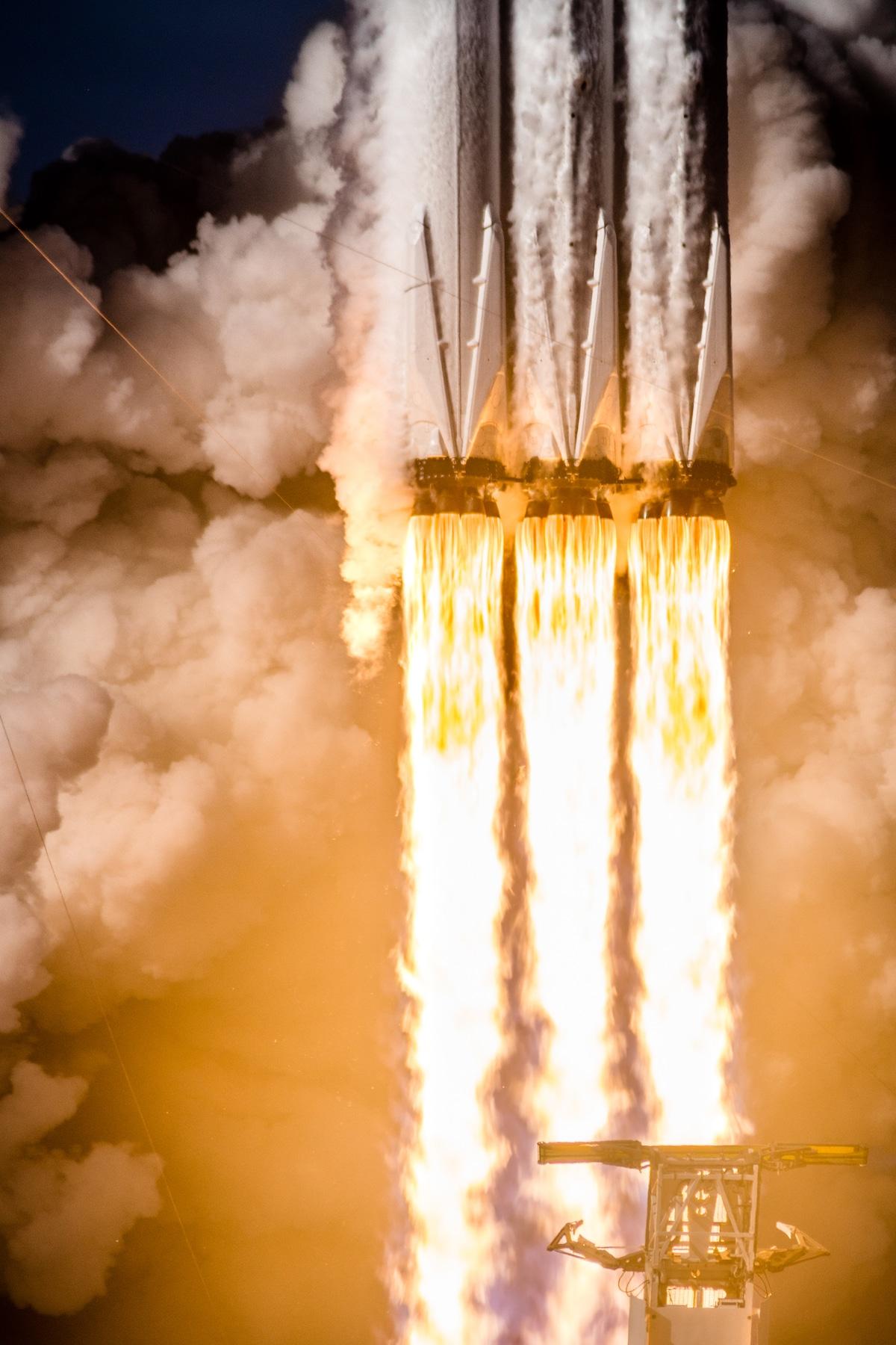 SpaceX Falcon Heavy Launch by Brady Kenniston