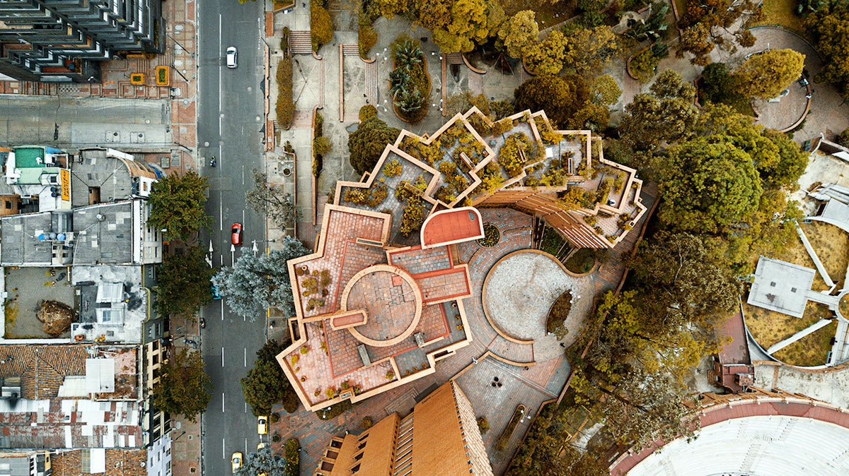Bogota Architecture Drone Photos
