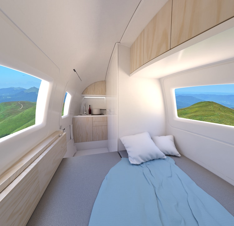 Ecocapsule - Self-Sustaining Mobile Home