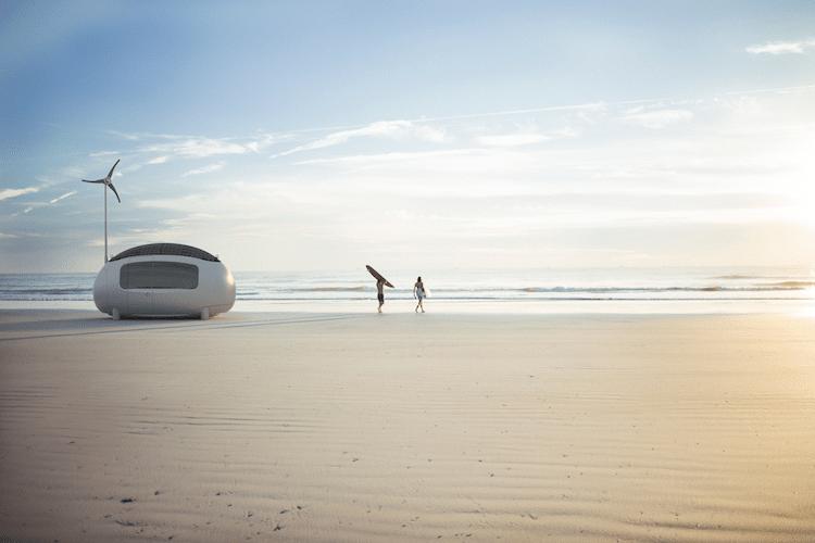 Ecocapsule mobile home