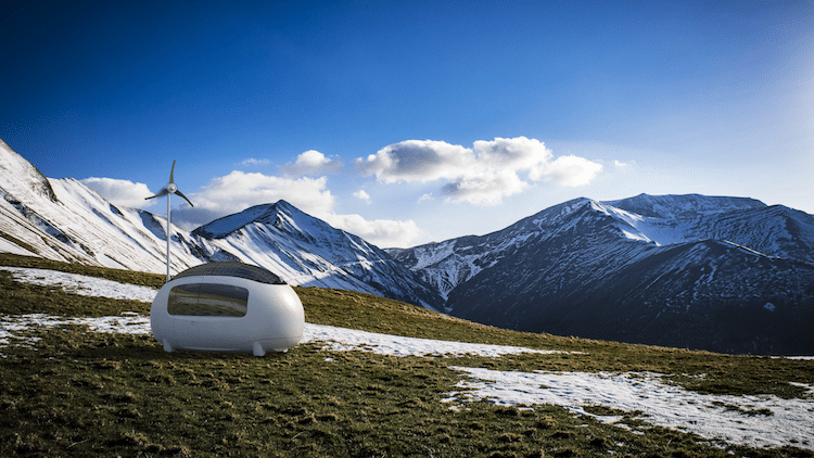 Ecocapsule sustainable mobile home