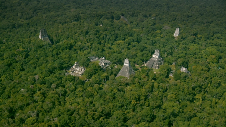 Maya Civilization Laser Mapping