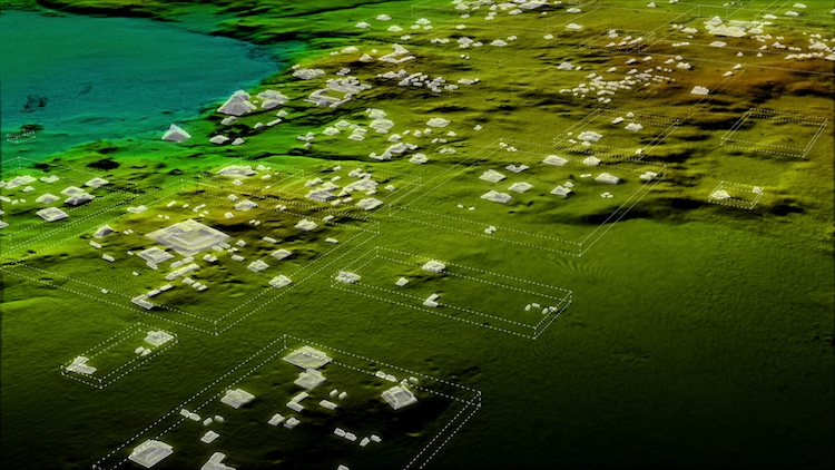 Maya Civilization Laser Mapping LiDAR