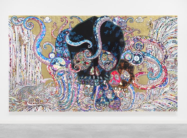 Takashi Murakami painting