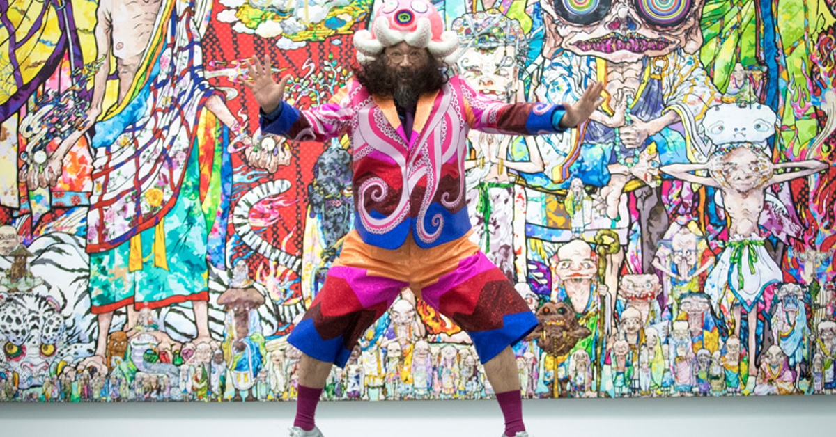 Takashi Murakami Premieres First Retrospective Exhibition in Canada
