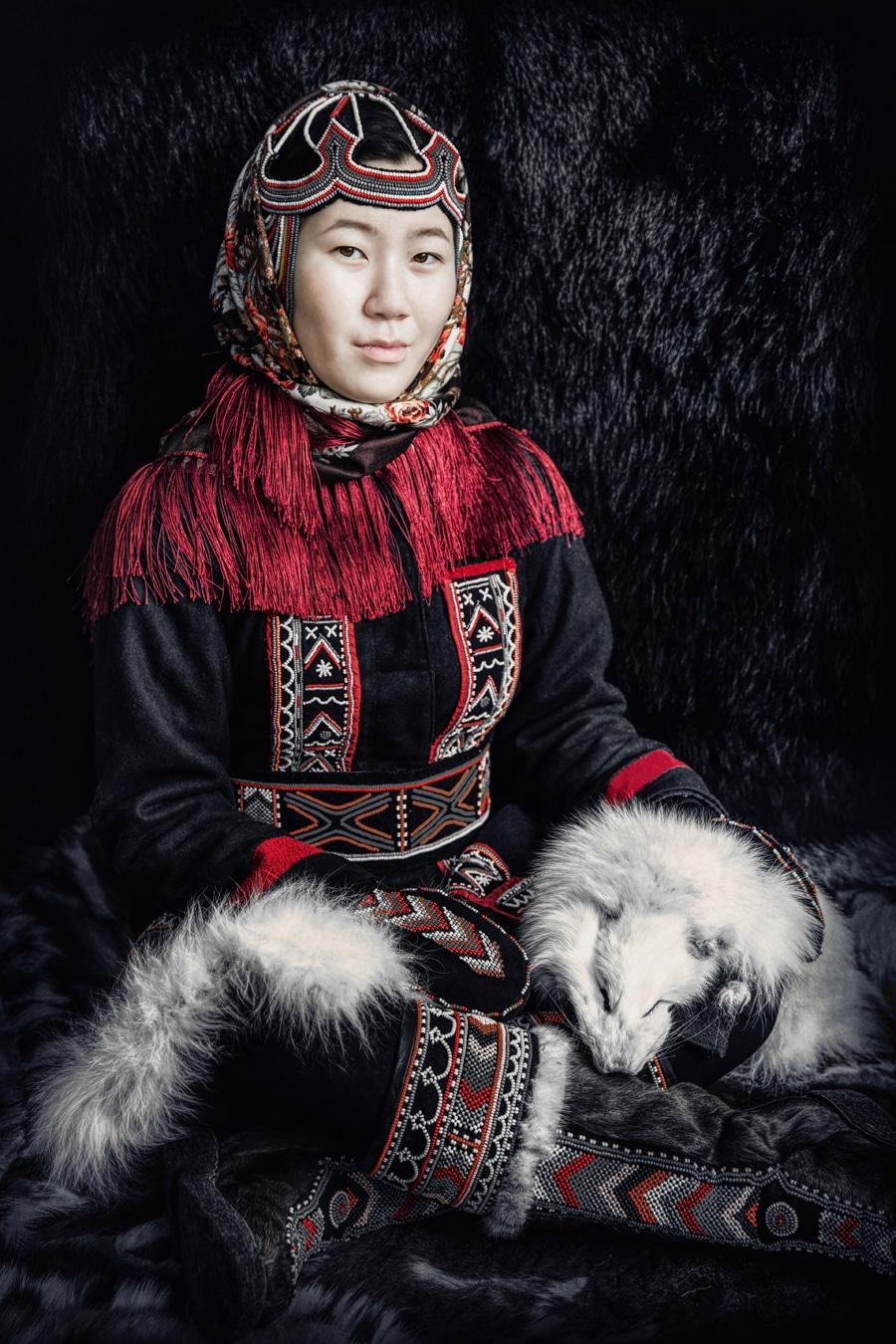 Alexander Khimushin portraits from Siberia