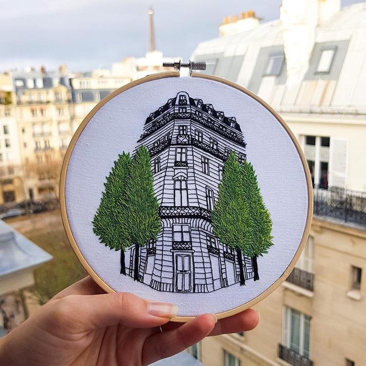 Textile Artist Couple Create Charming Architecture