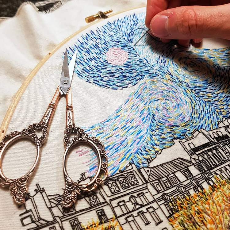 Textile Artist Couple Create Charming Architecture