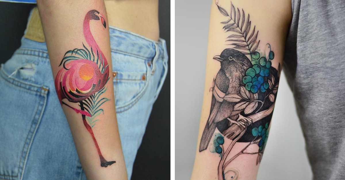 25 Bird Tattoos That Capture The Glorious Freedom Of Winged Creatures