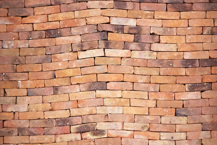 Brick Wall Installation Art by Jorge Méndez Blake
