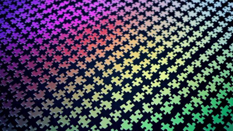 1,000 Colors Jigsaw Puzzle Clemens Habicht CMYK Puzzle Lamington Drive Editions