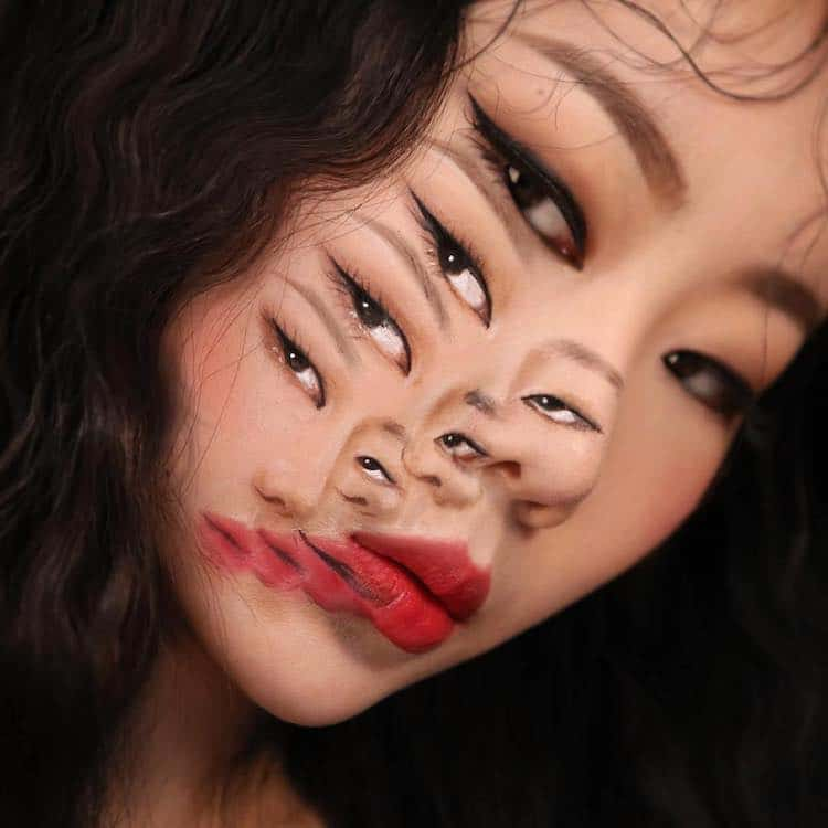 Illusion Makeup by Dain Yoon