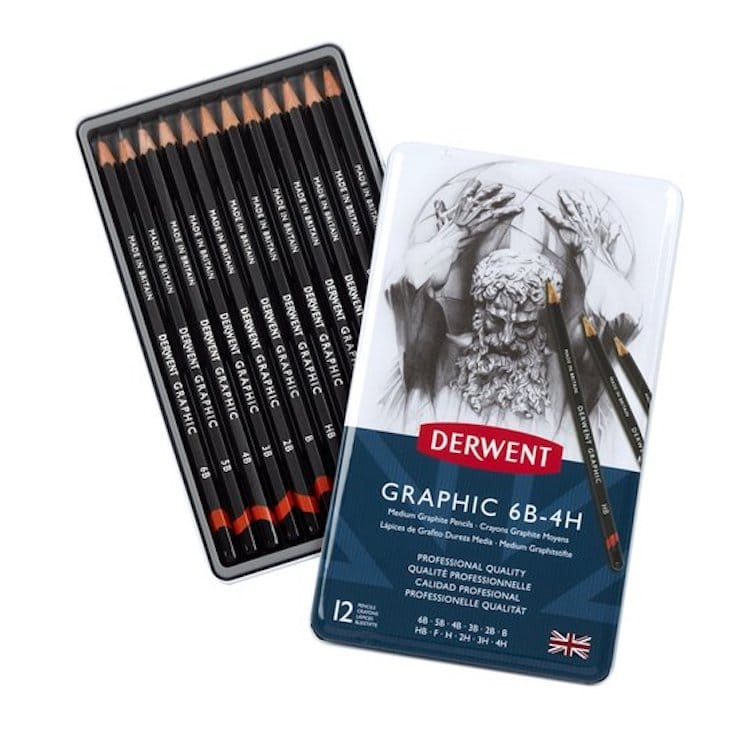 Best drawing pencils Derwent