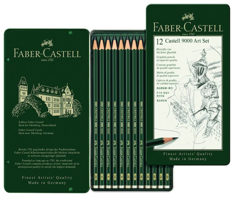 Faber-Castell drawing pencils