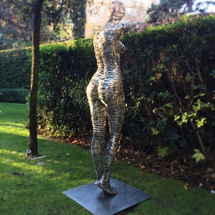 Figurative Metal-Work Sculptures By Jordi Díez Fernández
