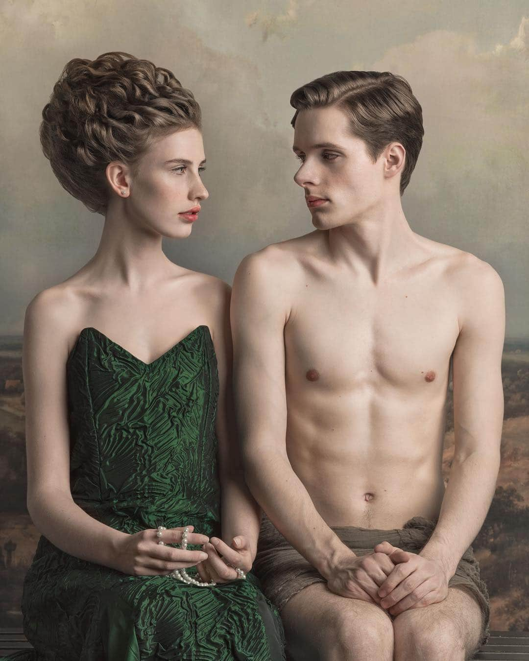 Fine Art Photography Inspired by Old Masters Paintings