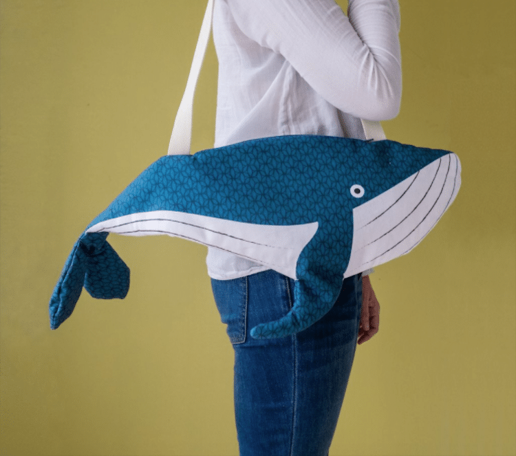 Ocean Gifts Gifts for Ocean Lovers Ocean Products Whale Purse Fish Pouch