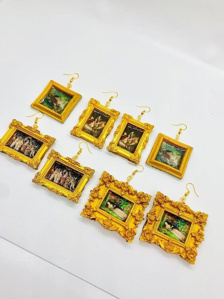 Famous Art Earrings