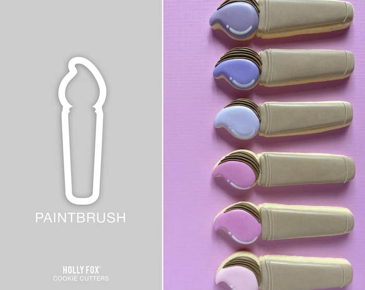 Paintbrush Cookie Cutter