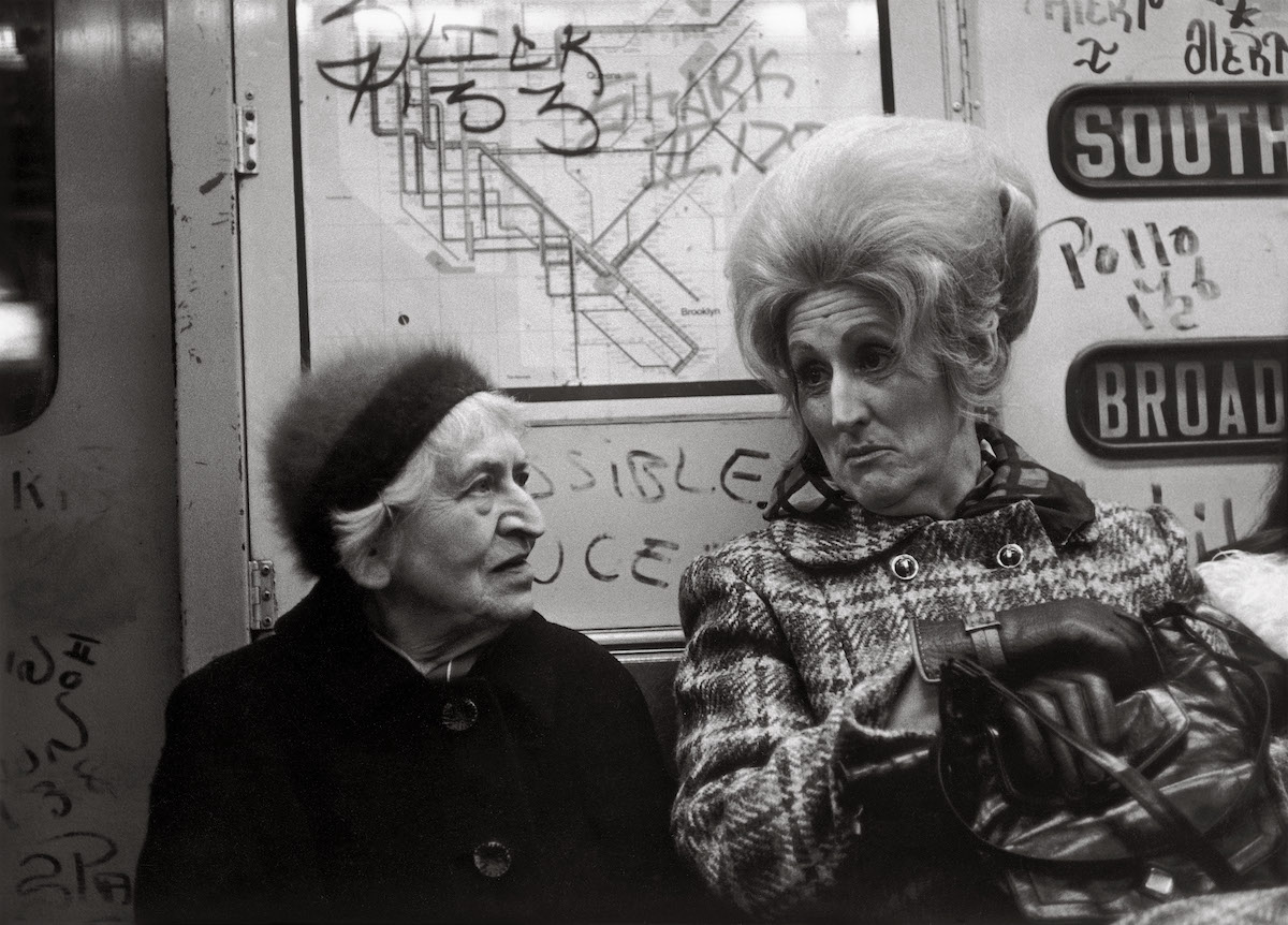 Subway Photography by Helen Levitt