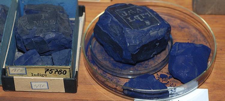 Índigo Historia del Color Azul