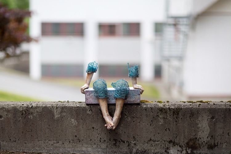 Figurative Sculptures of Children by Lene Kilda