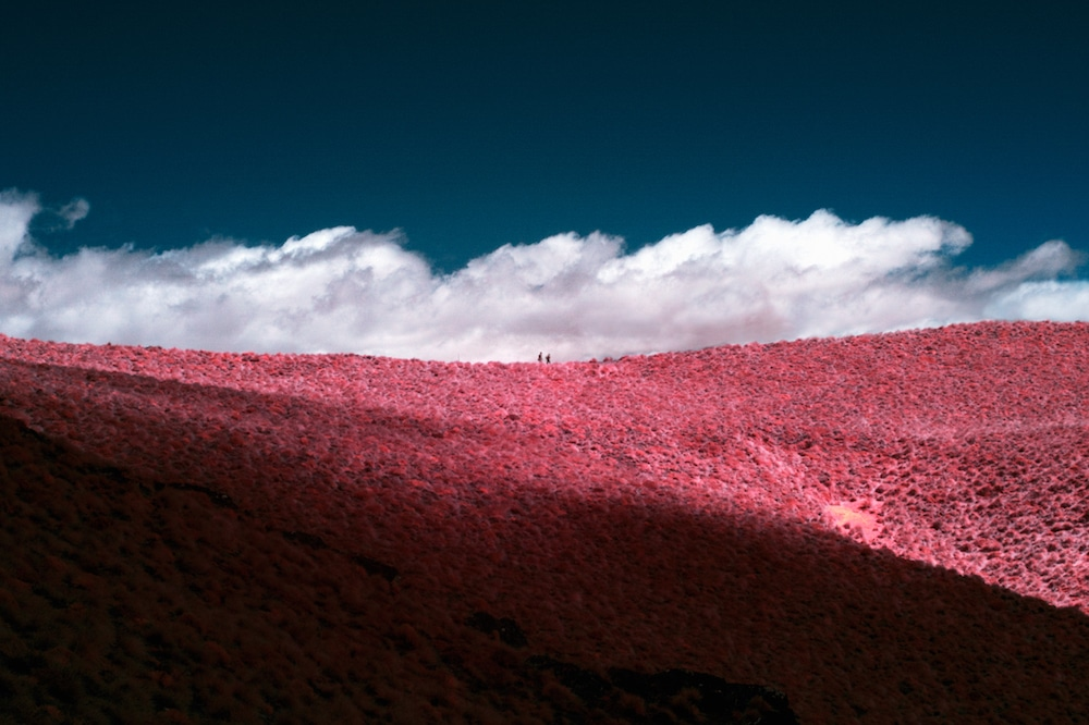 Infrared Photography Infrared Camera Pink Landscape New Zealand Vacation Paul Hoi