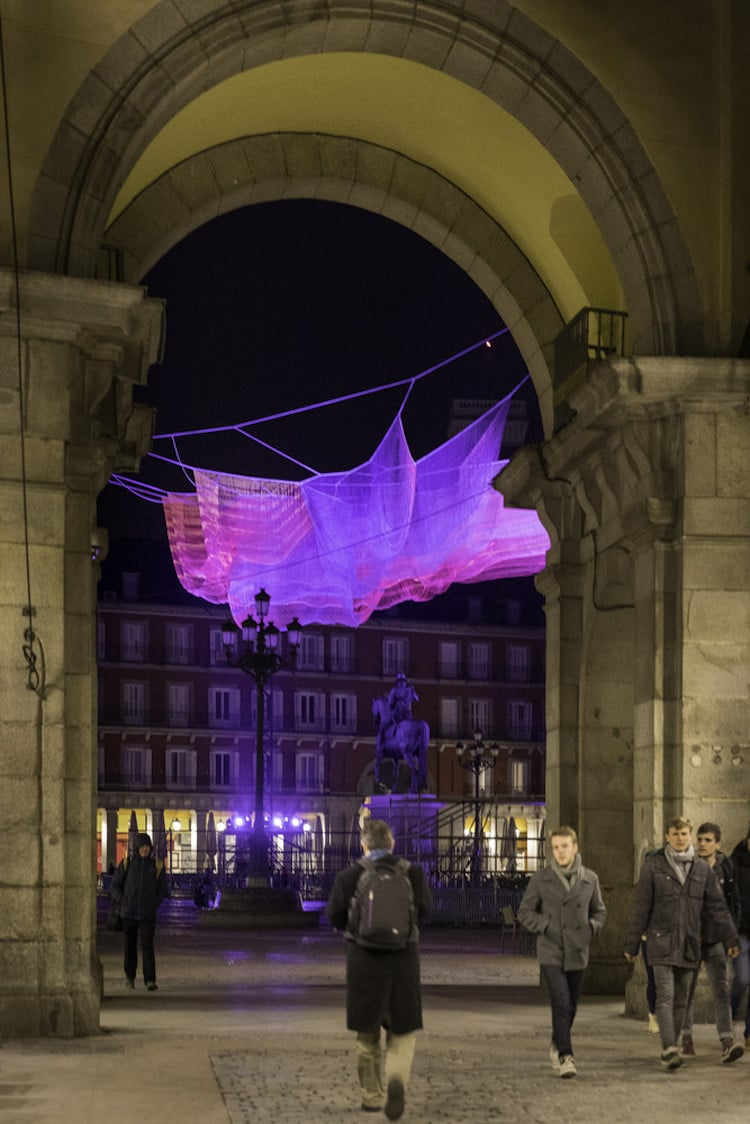 Fiber Art Installation by Janet Echelman