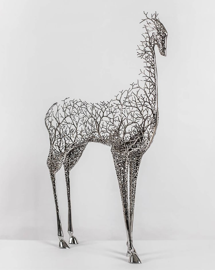 Metal Sculptures by Kang Dong Hyun