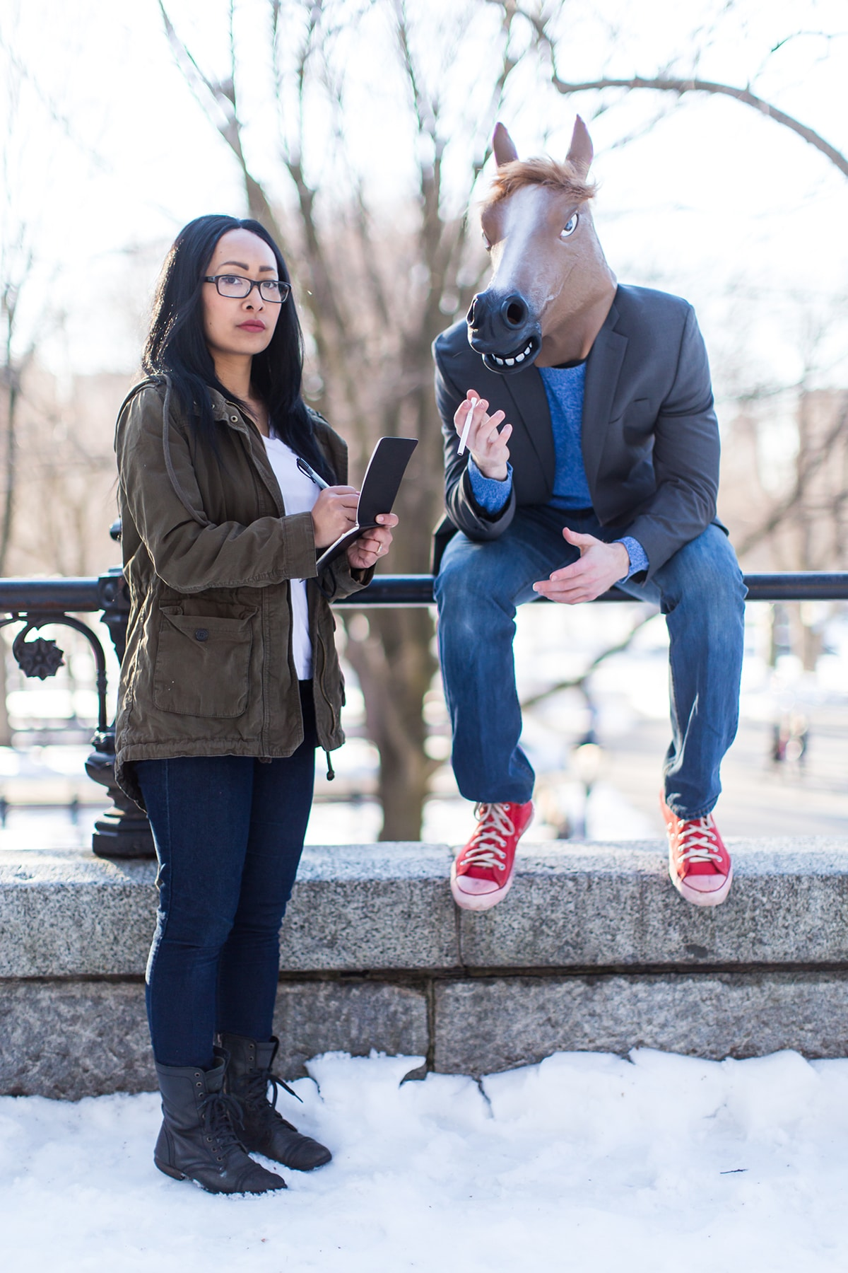 Pop Culture Engagement Photos by James Isaac