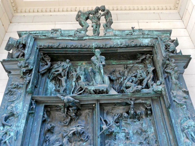 Auguste Rodin The Gates of Hell Rodin Sculpture