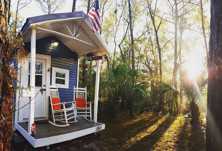 College Student Avoids Dorm Life by Building Tiny Home on Wheels