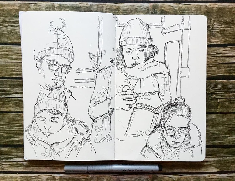 Sketchbook Journals Berlin by Keir Edmonds