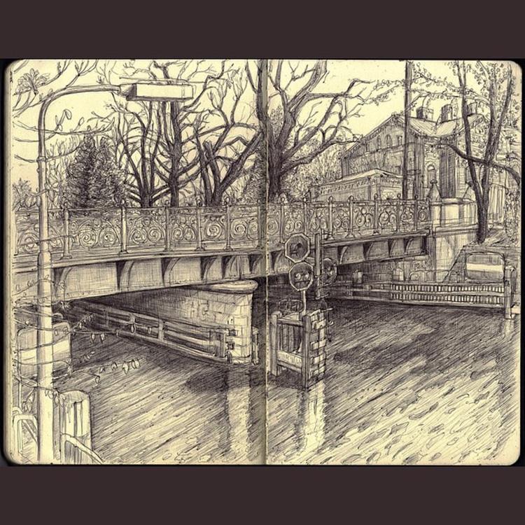 Sketchbook Journals Berlin by Keir Edmonds