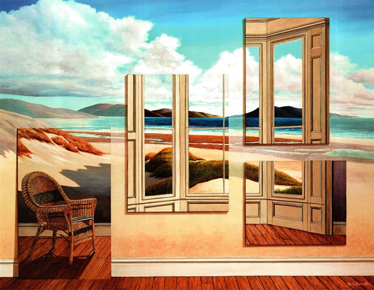 Surrealist Paintings by Neil Simone