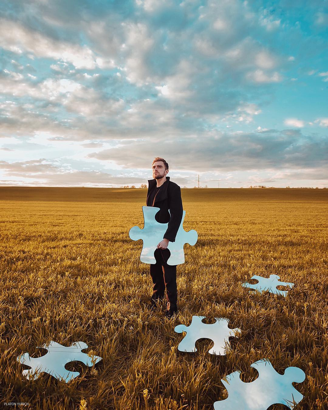 Surreal Conceptual Photography by Platon Yurich