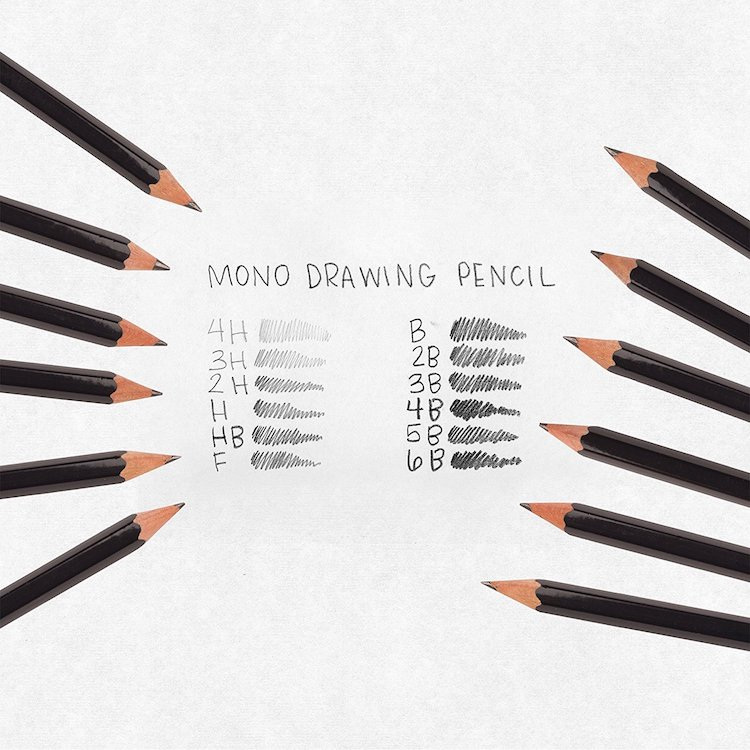 Tombow Mono best drawing pencils