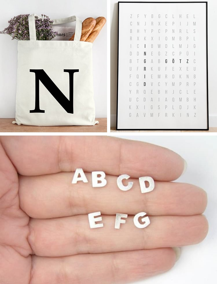 Typography Gifts