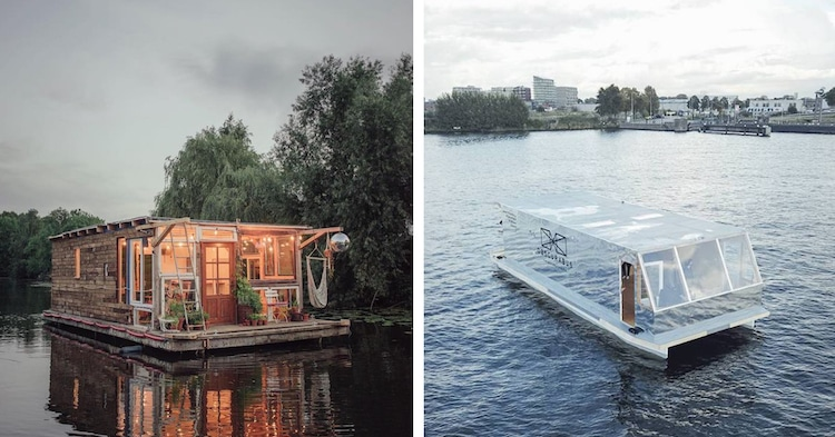 2Boats Ubermut Project Art Studio Boat Camera Obscura Boat Claudius SchulzeMaciej Markowicz
