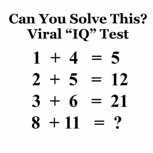Can You Solve This Viral Math Puzzle That Is Boggling
