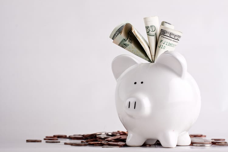 Photo of a Piggy Bank Full of Money