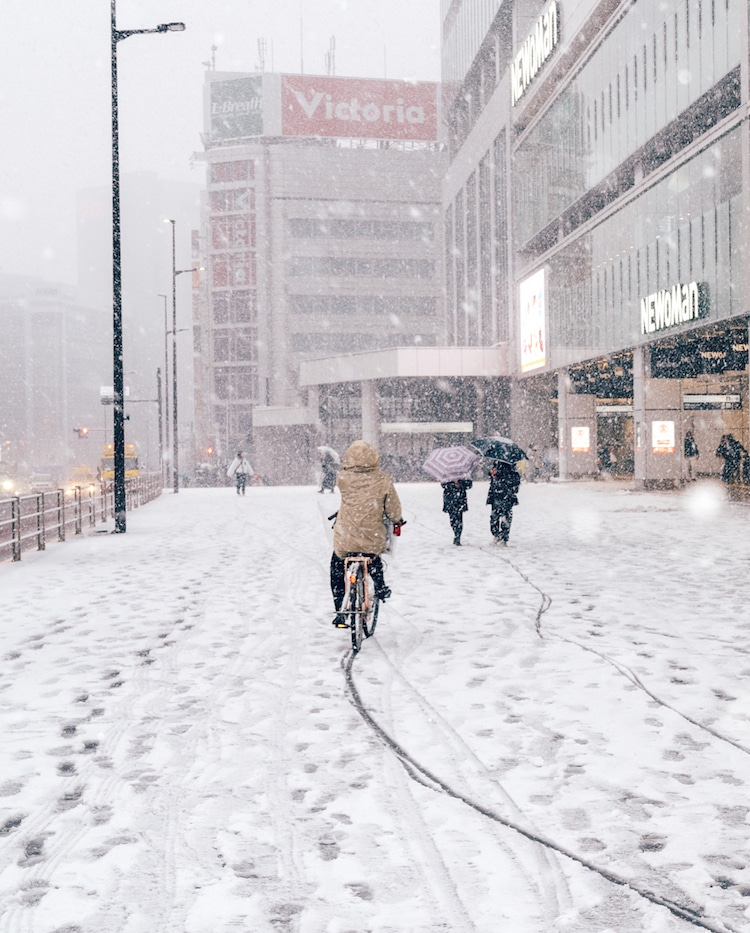 Yuichi Yokota - Tokyo in the Snow