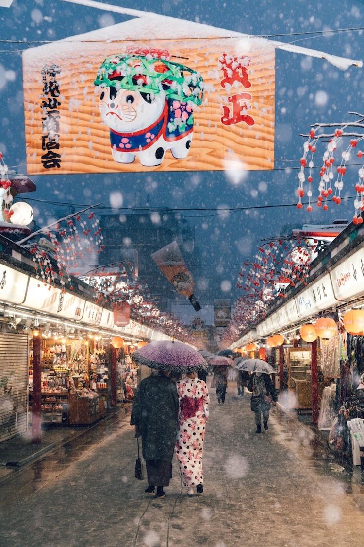Snow in Tokyo by Yuichi Yokota
